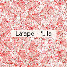 Load image into Gallery viewer, Lāʻape - ʻUla Face Mask