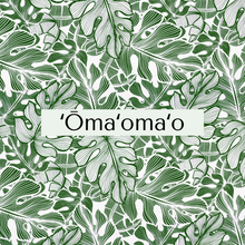 Load image into Gallery viewer, ʻŌmaʻomaʻo Face Mask