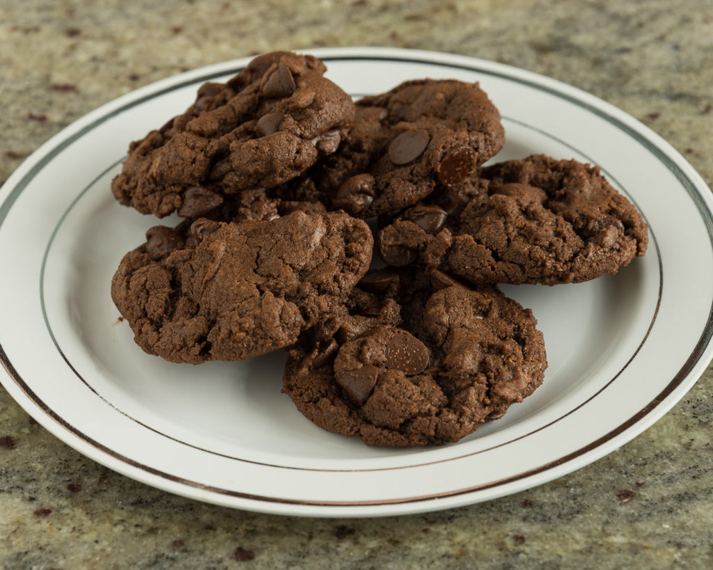 Vegan Spicy and Spiced Chocolate Cookies