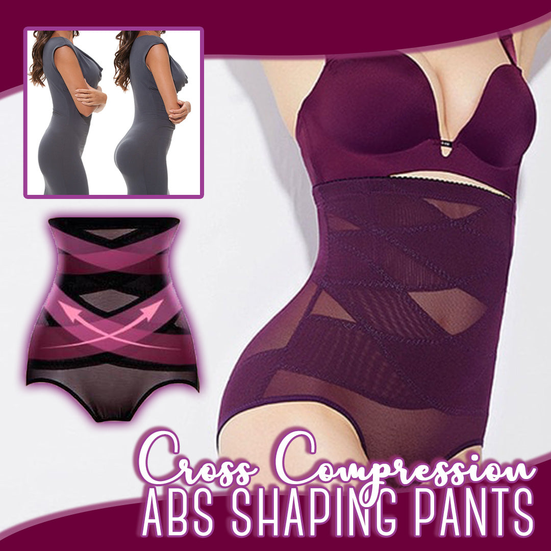 Cross Compression Abs Shaping Pants Free Shipping R6N0
