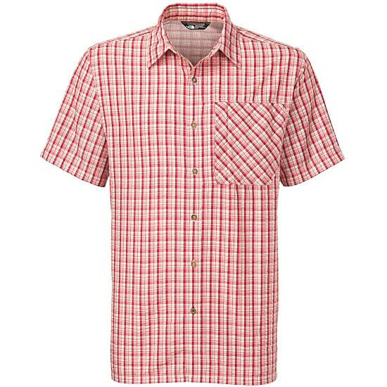 The North Face Men's SS Bellingham Shirt Rage Red