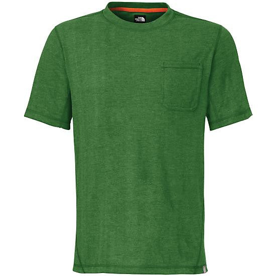 The North Face Men's SS Meadowlake Crew Sullivan Green Heather