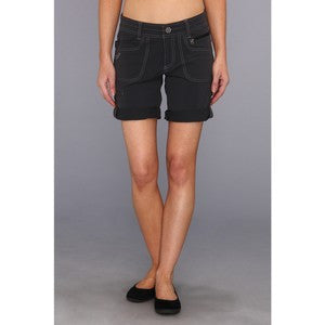 Kuhl Women's Vala Roll-Up Short Charcoal