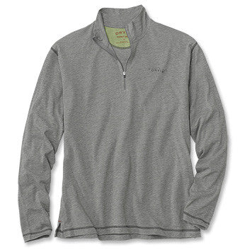 Orvis Men's Drirelease Long-Sleeved Zipneck Casting Shirt