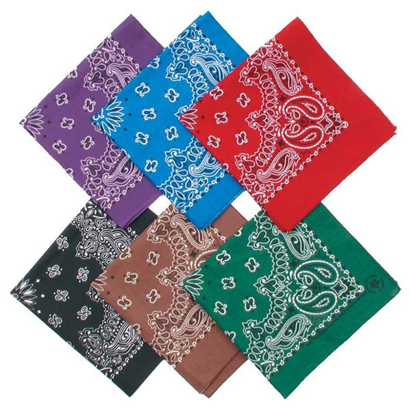 Bandana Fashion Dark Assorted