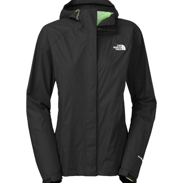 The North Face Women's Venture Jacket Black/Green Ash