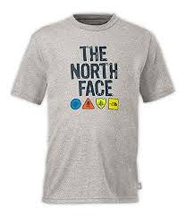 The North Face Youth Camp TNF S/S Tee Heather Grey