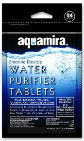 Aquaria Water Purifier Tablets