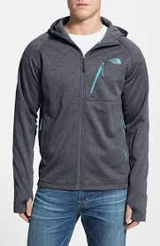 The North Face Men's Canyonlands Hoodie Full Zip Cosmic Blue Heather