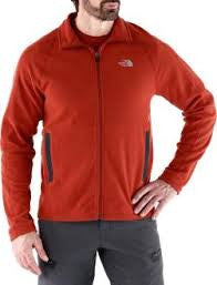The North Face Men's RDT 100 Full Zip Red Clay