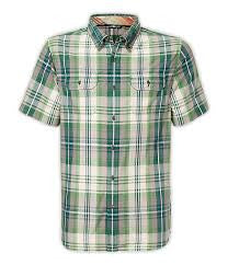 The North Face Men's Delridge Shirt Sullivan Green