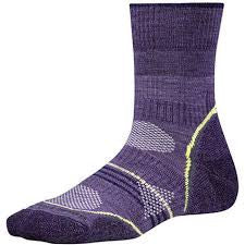 Smartwool Women's PhD Outdoor Light Mid Crew Desert Purple