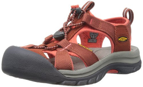 Keen Women's Venice H2 Sandal,Burnt Henna/Hot Coral