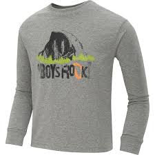 The North Face Youth Camp TNF L/S Tee Heather Grey