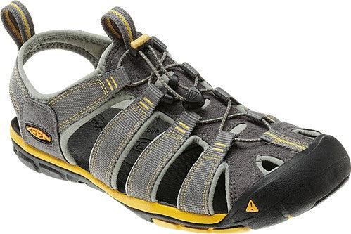 Keen Men's Clearwater CNX Gargoyle/Super Lemon