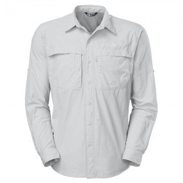 The North Face Men's LS Cool Horizon Shirt High Rise Grey