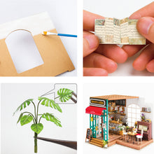 Laad de afbeelding in de galerijviewer, Simon's Coffee / Cafe Shop - DIY Miniture House Kit - Avalon - Gifts, Antiques & Plants