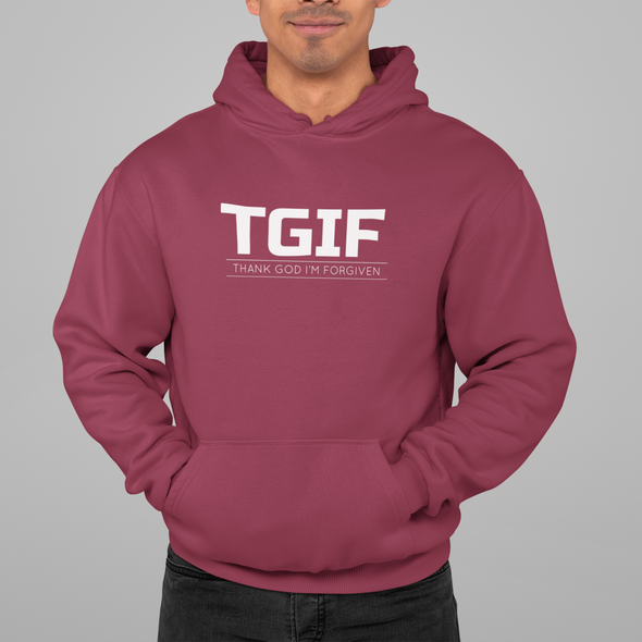 Thank God I am Forgiven Unisex Hoodie