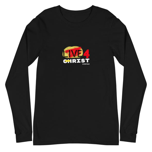 Live 4 Christ Everyday Unisex Long Sleeve Tee
