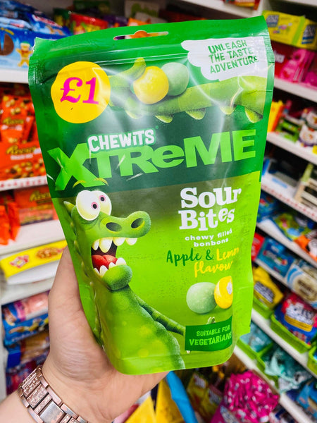 Apple Chewits extreme sour bites