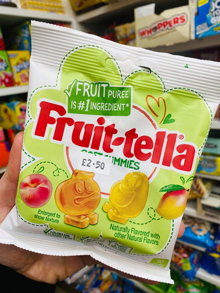 Fruit-tella gummies