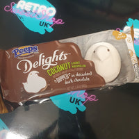 Peeps delights coconut dipped chocolate chicks