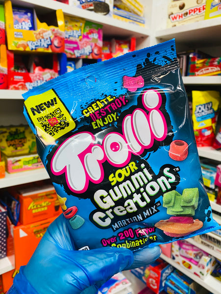 Trolli Sour Gummi Creations Martian Mix 120g