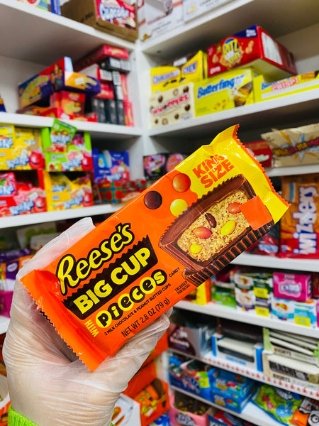 Reeses big cup pieces