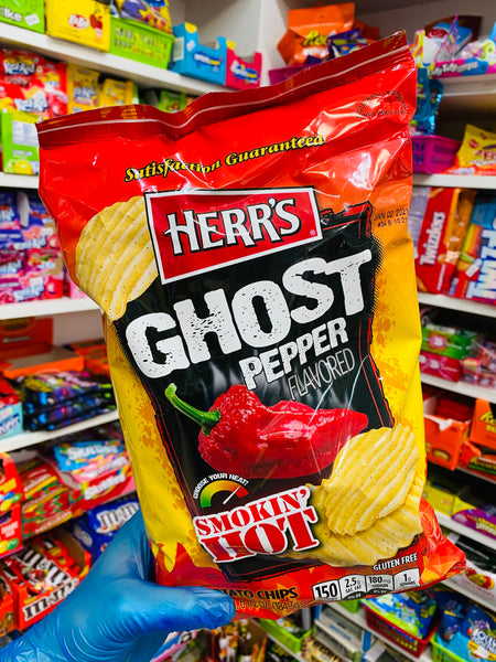 Herrs - Ghost Pepper Flavoured