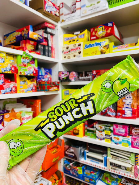 Sour punch apple