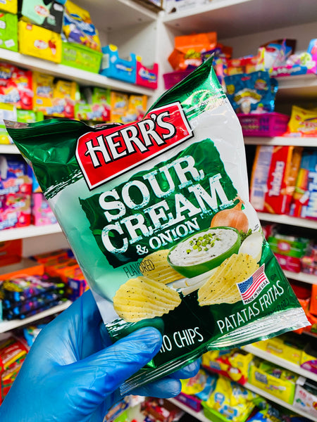 Herrs - Sour Cream & Onion 28g (OOD)