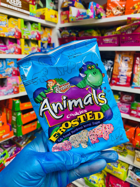 Animal Frosted cookies