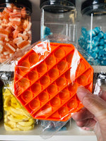 Hexagon Pop It - orange