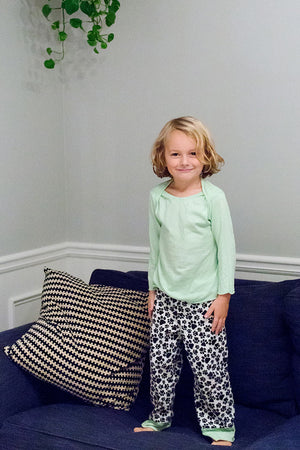 Snuggle Pajamas Sewing Pattern by Blank Slate Patterns for Babies, Boys and Girls
