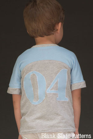 Just a Jersey Tee pdf sewing pattern by Blank Slate Patterns