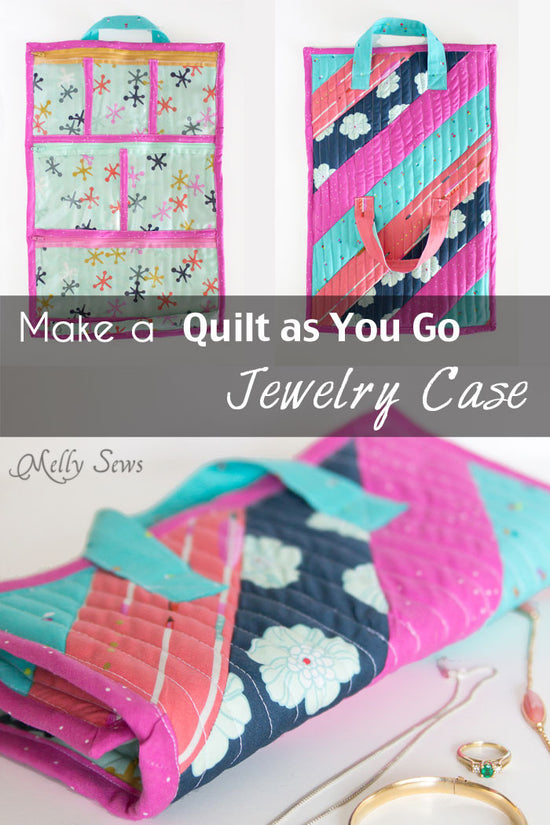 Sew a Quilted Jewelry Case - Melly Sews