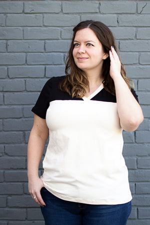 Juniper Jersey - Women's T-Shirt Sewing Pattern by Blank Slate Patterns