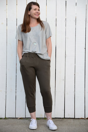 Skye Joggers Pattern - Women's Sweatpants Pattern - Sew Track Pants  - Blank Slate Patterns