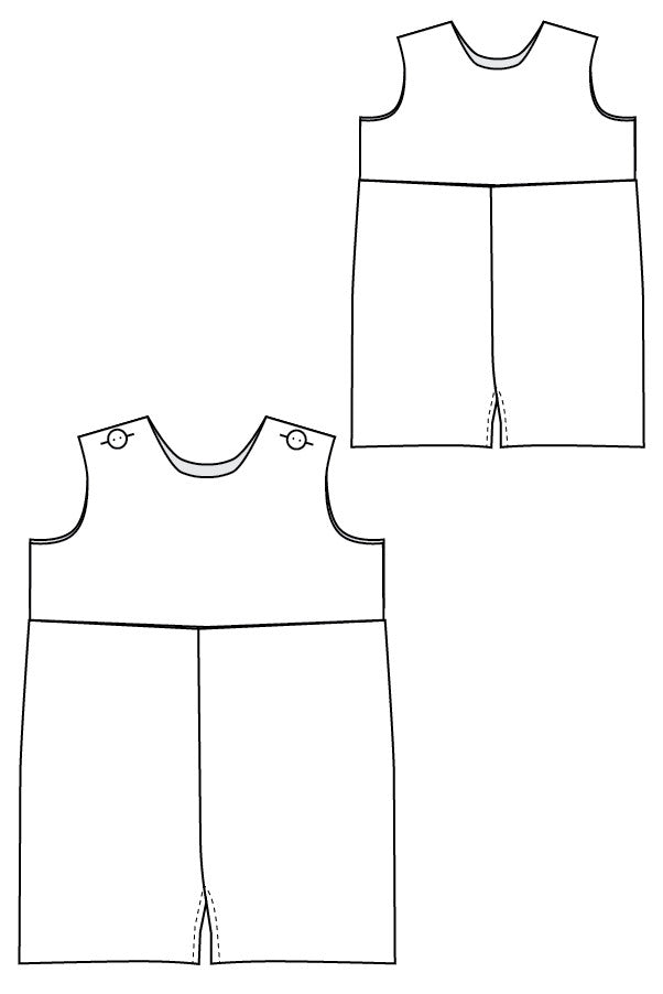 Raleigh Romper And Dress Blank Slate Patterns