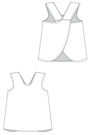 Dress Line Drawing