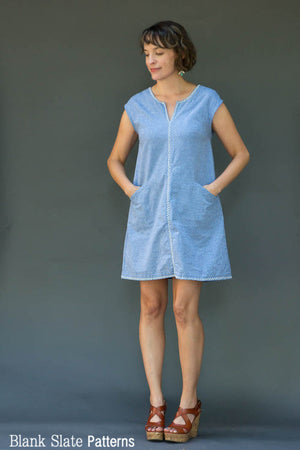 Leralynn Dress - by Blank Slate Patterns - Women's Shift Dress Sewing Pattern