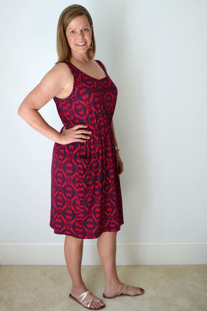 Catalina Dress Pattern by Blank Slate Patterns - Tank version