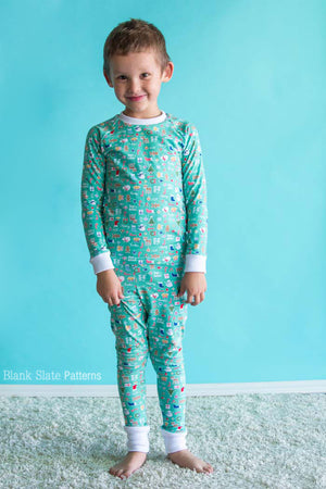 Dreamtime Jammies - Kids Pajama Pattern from Blank Slate Patterns - Family Matching PJs