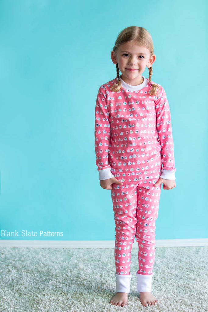 Dreamtime Jammies - Kids Pajama Pattern from Blank Slate Patterns - Kids Pjs