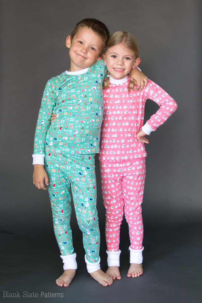 Dreamtime Jammies - Kids Pajama Pattern from Blank Slate Patterns - Family Pajamas