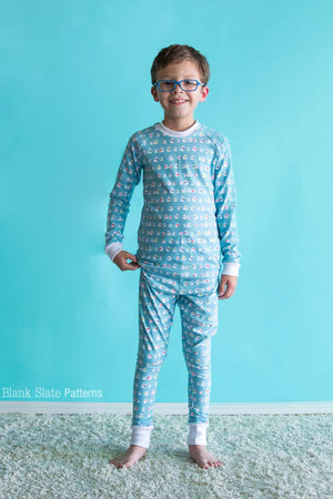 Dreamtime Jammies - Kids Pajama Pattern from Blank Slate Patterns - Coordinated PJs