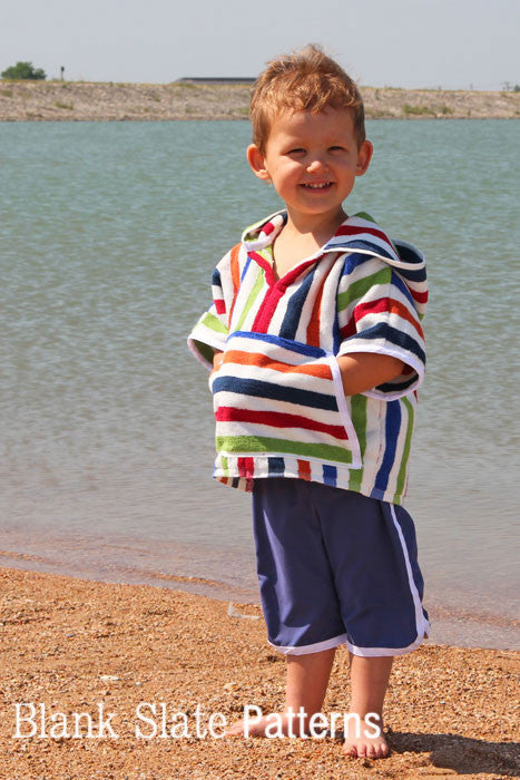 Baja Hoody PDF Sewing Pattern swim cover up from Blank Slate Patterns