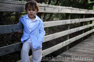 Blank Slate Patterns Basic Blazer pdf sewing pattern