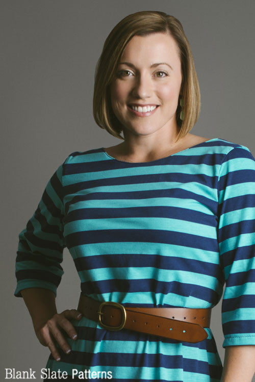 Shoreline Boatneck Sewing Pattern - PDF Sewing Pattern by Blank Slate Patterns