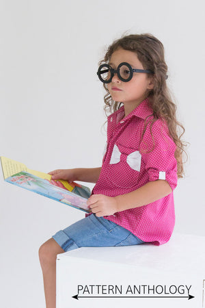 Bookworm Button Up